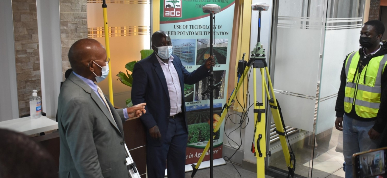 Launching of new Surveyors Equipment's - RTK by ADC Managing Director